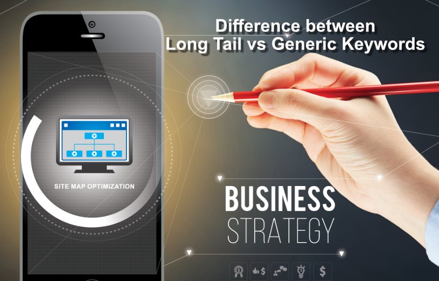 Difference between Long Tail vs Generic Keywords